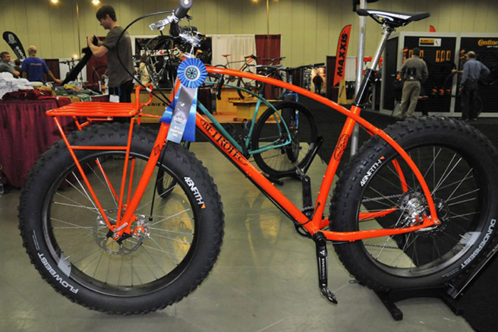RetroTec Napa Valley fatbike. (Photo: Tom Moran for VeloNews.com)