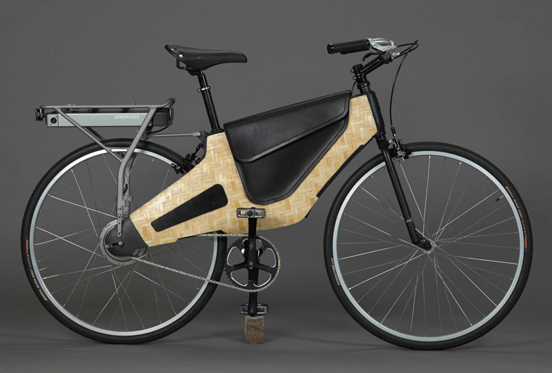 HERObike Bamboost, a bamboo composite electric bike