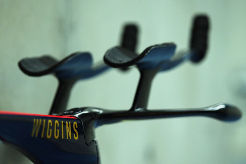 Wiggins' Pinarello Hour Record bike- handlebars