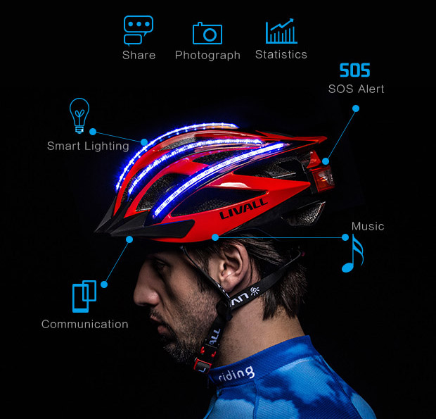 LIVALL Bling Smart Helmet