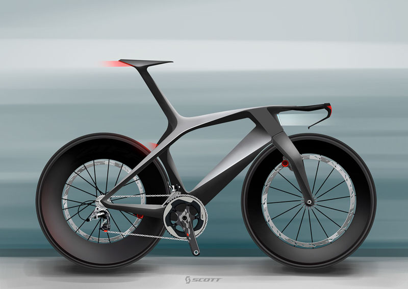 Scott concept time trial bike by Julien Delcambre