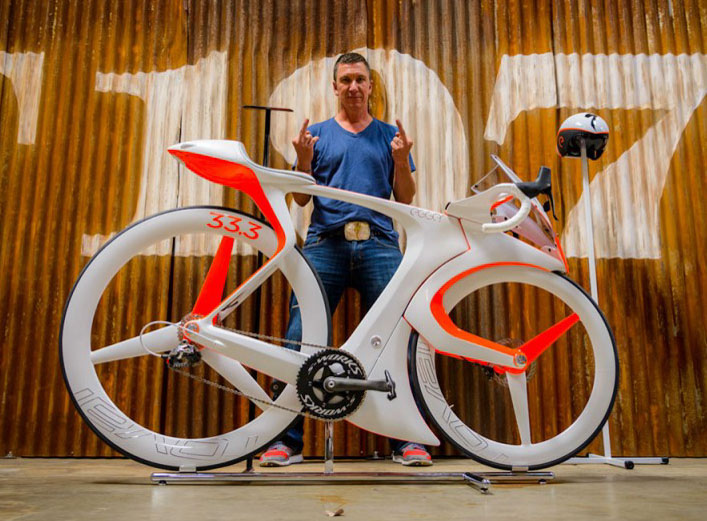 fUCI concept bike by Specialized Creative Director Robert Egger