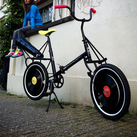 A unique wooden bike and more