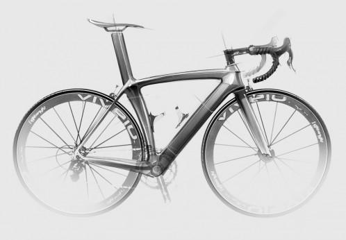Road Bike Sketches By Ilya Vostrikov Bicycle Design