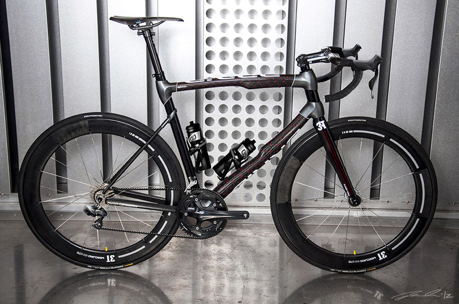 RaceBRAID Carbon Fiber Road Bike Designed By Jacob Haim