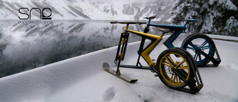 Sno- a concept snow bike by Venn